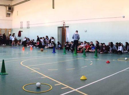 Mattinata sportiva con le terze medie