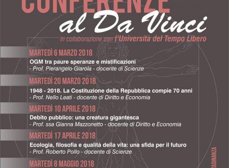 "Conferenze al ""Da Vinci"""