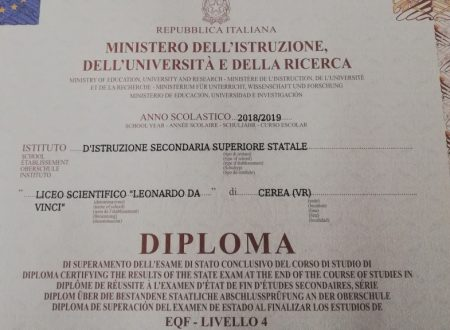 Ritiro Diplomi: avviso dalla segreteria didattica